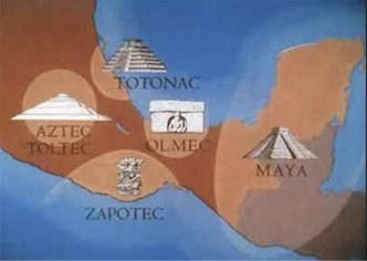 The first mexicans the olmecs mexicanhistory mexicanhistory map showing location of the olmec civilization publicscrutiny Choice Image